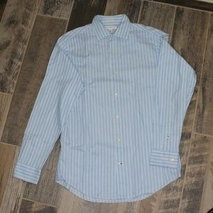 Banana Republic Men Shirt Fitted Size M 15-15 1/2